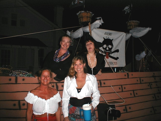 Picture of bimbo's on our float
